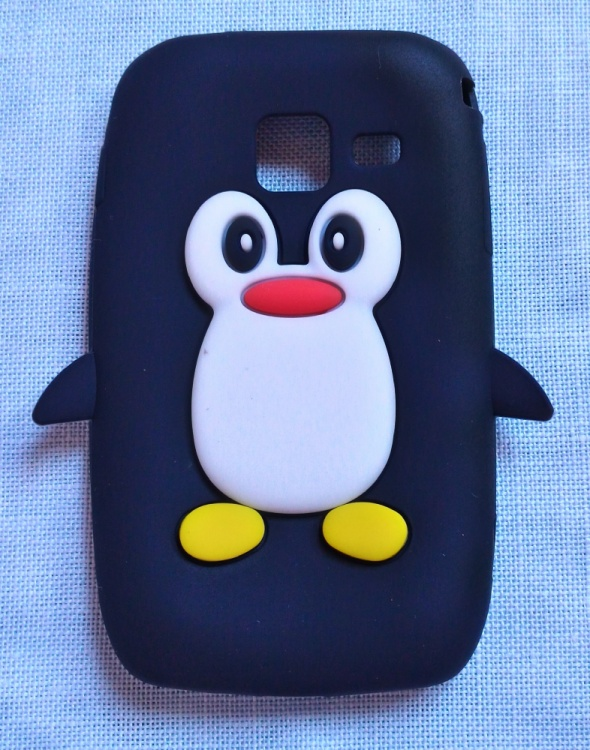 Nowe etui case Samsung Wave Y S5380 pingwin siliko