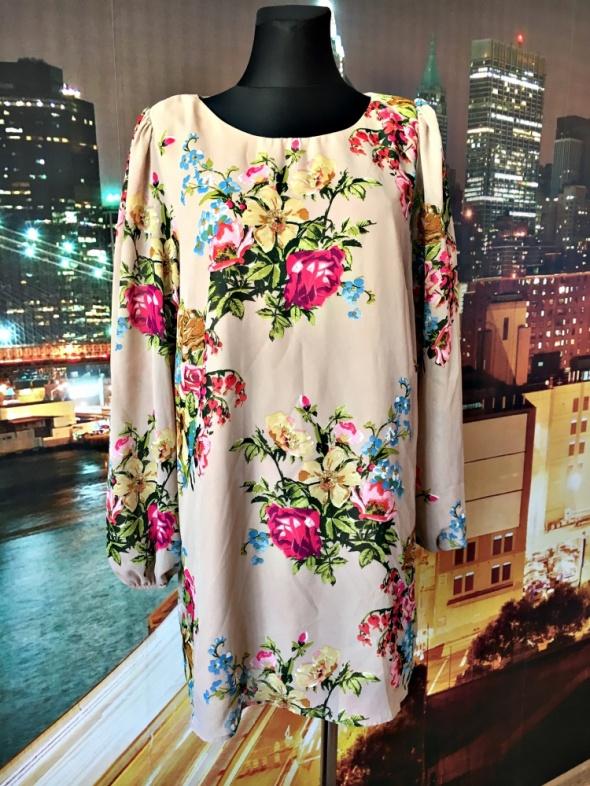 atmosphere sukienka mini mgiełka kwiaty floral hit blog 46