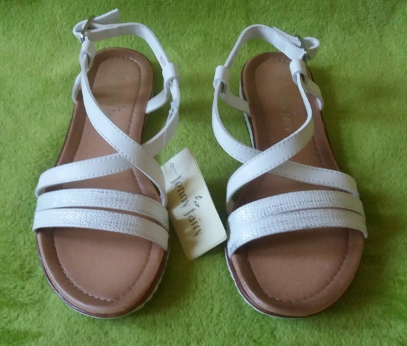 a16a7076 Nowe białe sandały Jenny Fairy 36 CCC w Sandały - Szafa.pl