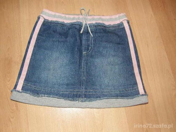 DENIM CO spódniczka jeans bawełniany PAS