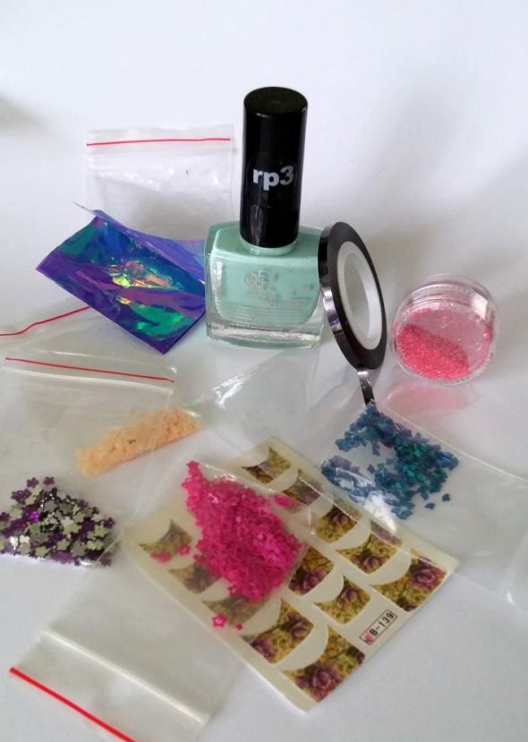 Zestaw do sylizacji paznokci zdobienie lakier