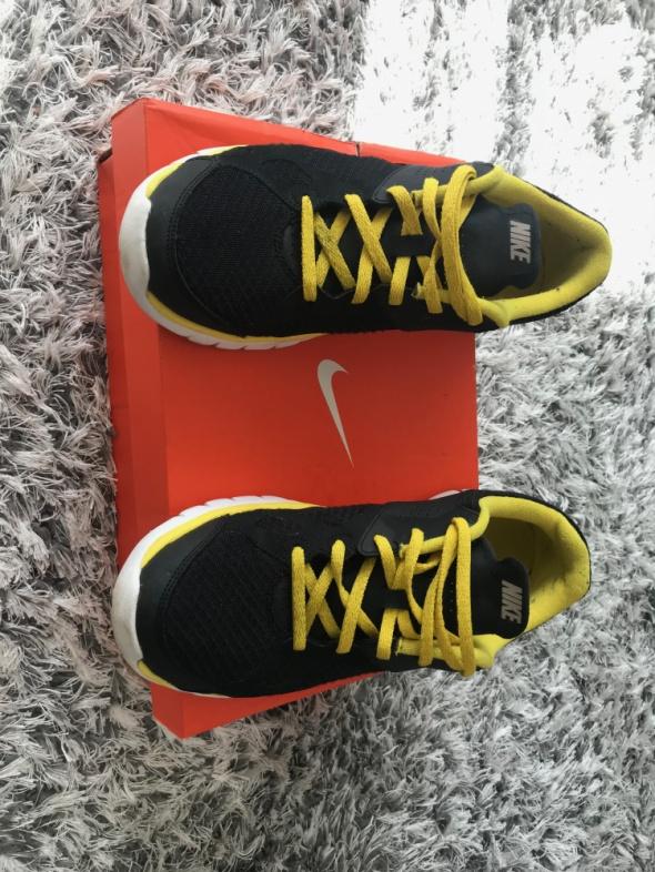 Nike buty sportowe Czarno zolte 42...