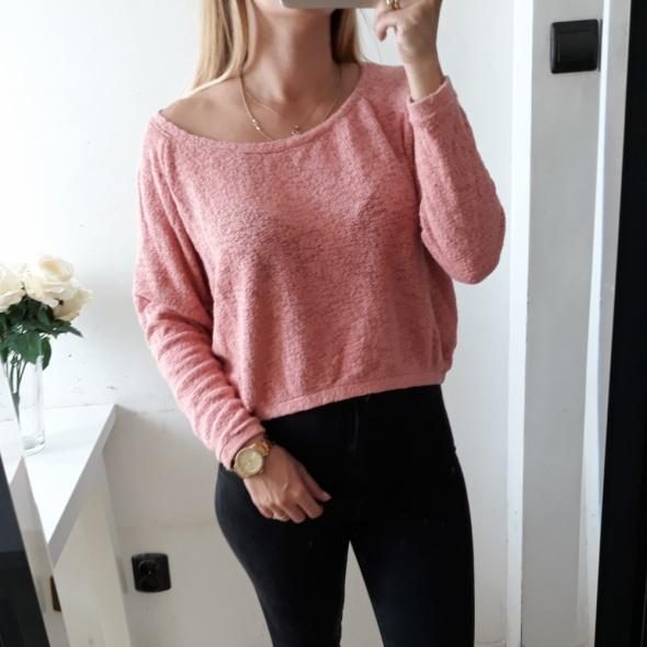 Zara sweter crop top luzny S