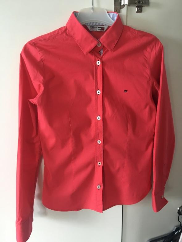 Damska różowa koszula Tommy Hilfiger S M