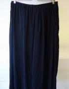 Spodnie Spódnica Czarne H&M L 40 Eleganckie Long...
