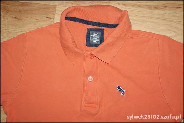 pomarańczowa bluzka z handm