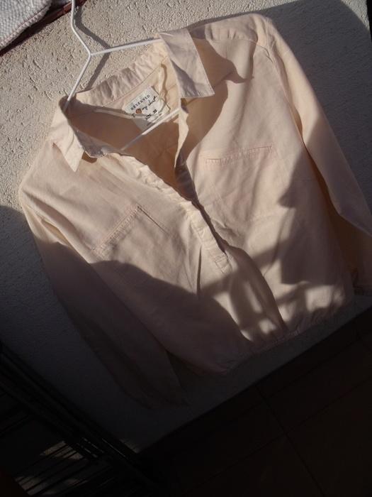 Reserved pudrowa pastelowa elegancka koszula