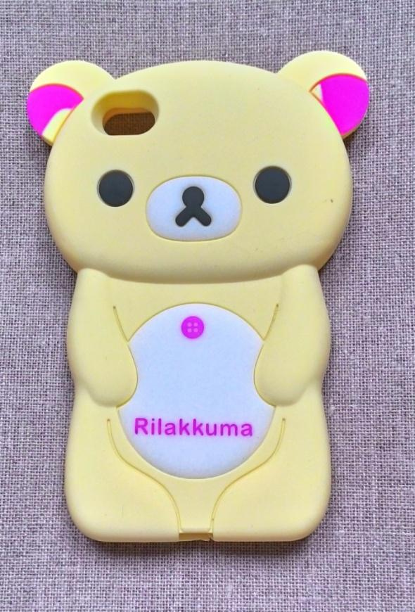 Nowe etui case iPhone 4 4S miś silikonowy żółty pa