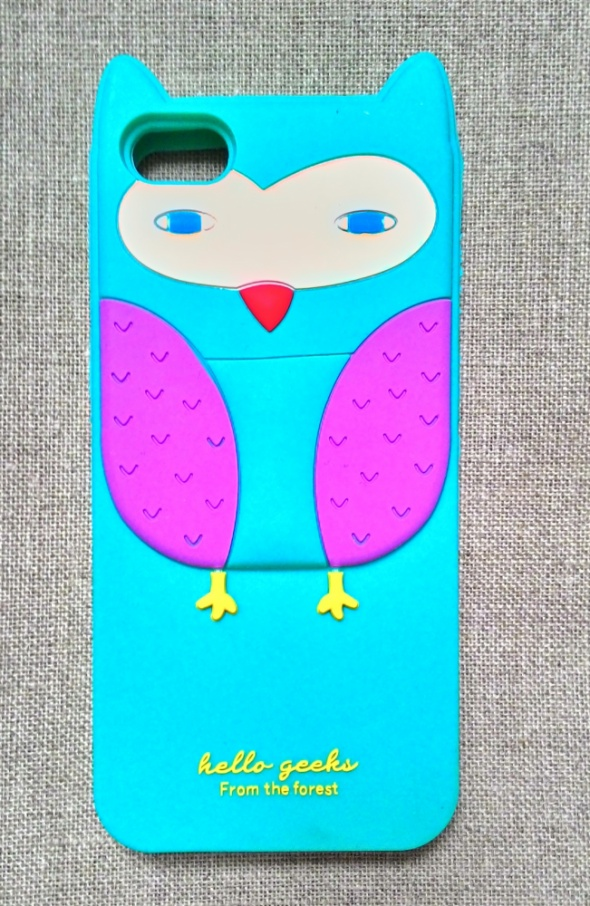 Nowe etui case iPhone 5 5S silikonowe sowa sówka o