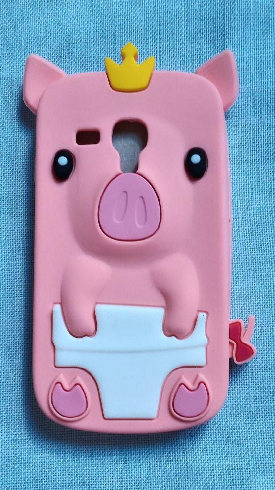 Nowe etui case Samsung Galaxy S3 mini świnka świni
