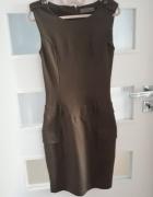 Sukienka w wojskowym stylu 34 TOP SECRET...