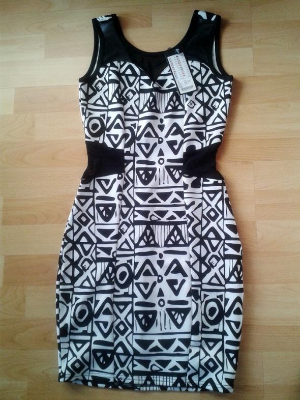 Sukienka aztecki wzór...
