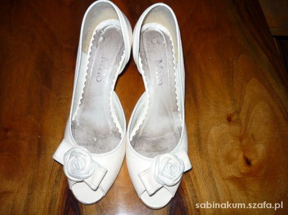 Piękne ślubne buciki Milo