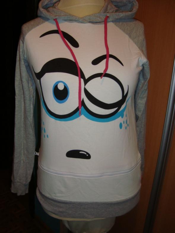 Bluza z oczami