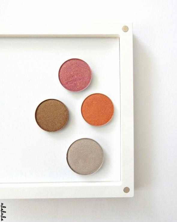 Affect Hean zestaw 4 cieni do powiek wkładów do palety magnetycznej foil duochrome eyeshadow