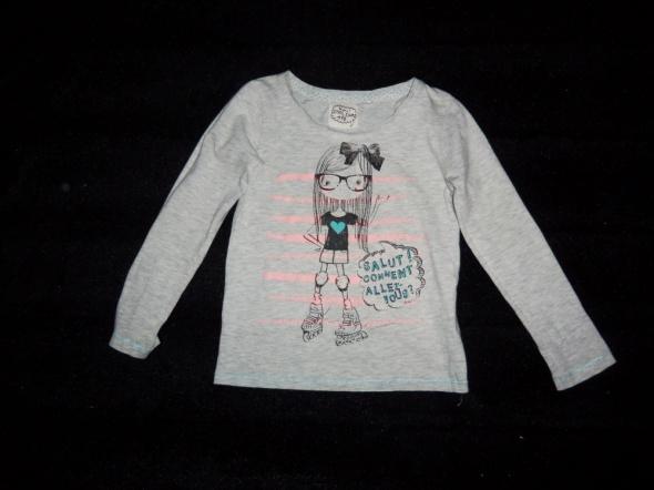 Bluzeczka dla dziewczynki szara cool club r 116