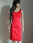 Czerwona sukienka na ramiączkach r L...