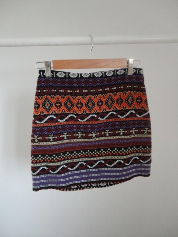 spódnica aztec boho tanio