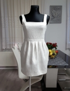 biała sukienka River Island...