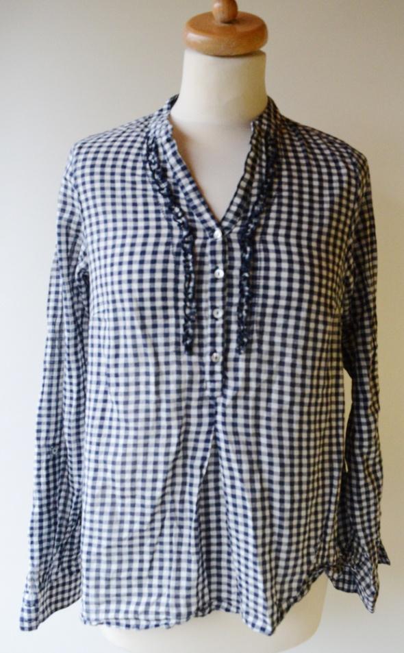 Koszula Gina Tricot Kratka Granat XS 34 Żabot