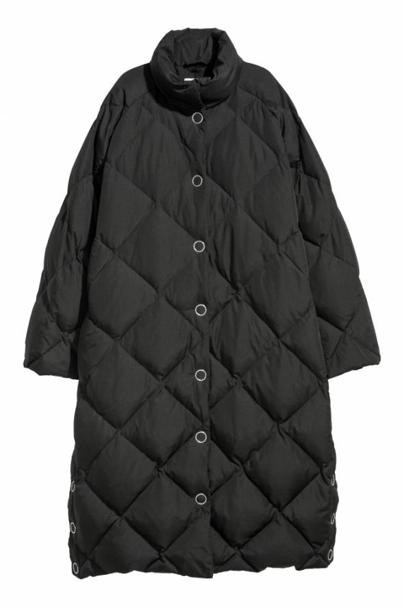 H&M Długa kurtka puchowa pikowana...