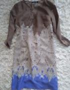 Sukienka tunika etno