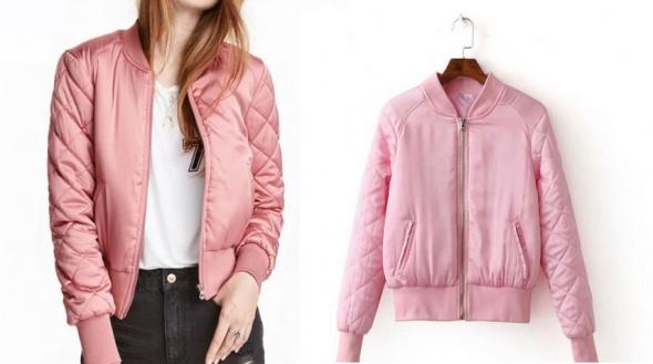 Bomber jacket w 6 kolorach rozmiar okazja pikowana