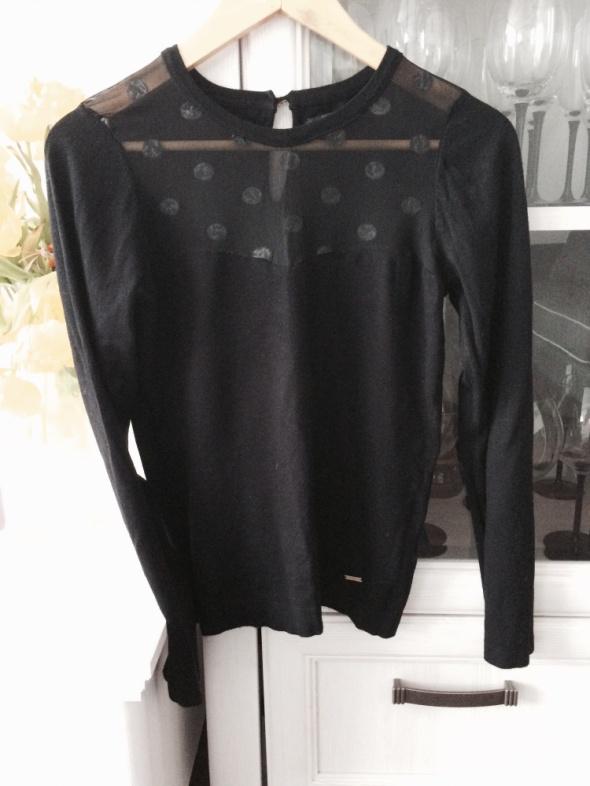 Bluzka Mohito transparentne wstawki Mohito