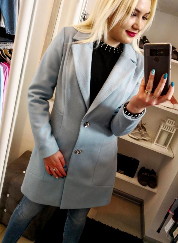Klasyczny płaszcz wiosenny Blue