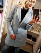 Klasyczny płaszcz wiosenny Blue...