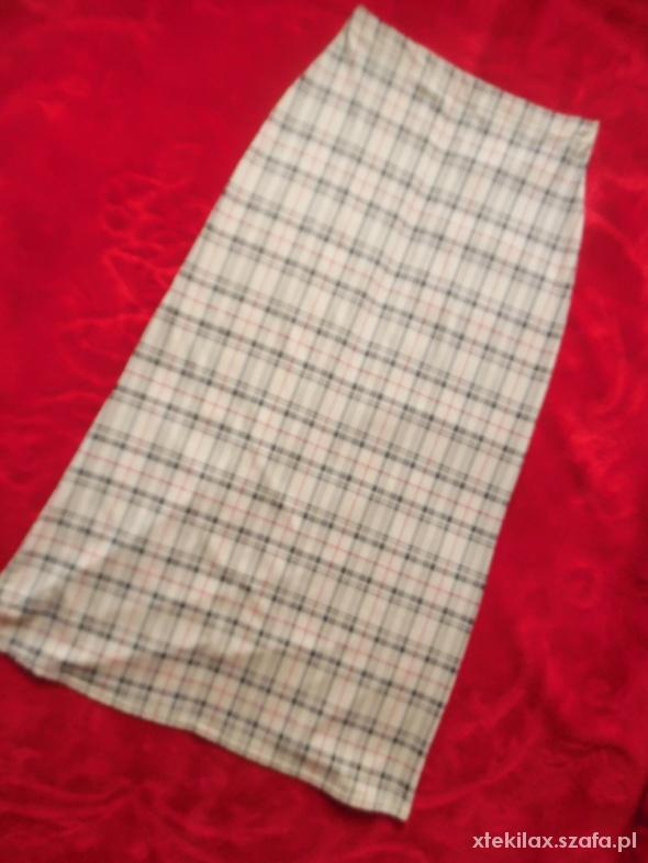 Spódnice Długa spódnica a la Burberry