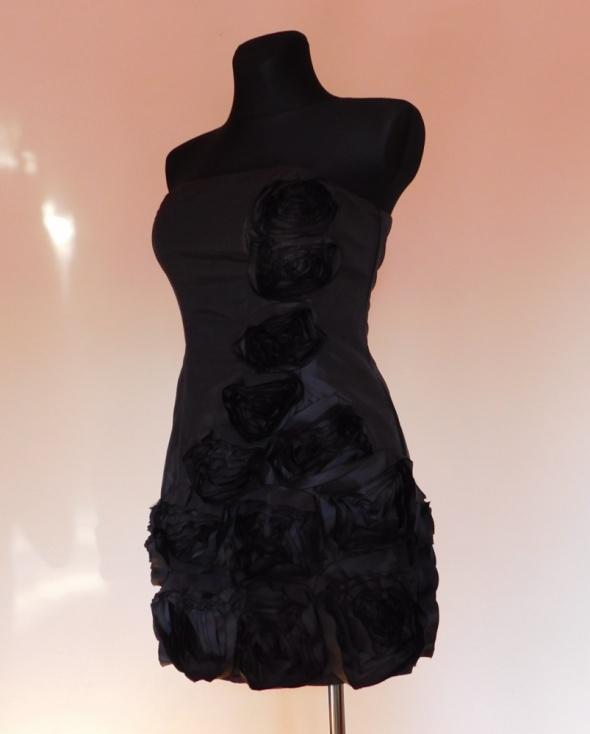 Redherring sukienka mini czarna sexy 38...