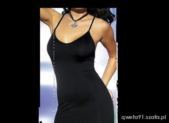 Tunika sukienka mała czarna nowa