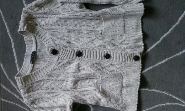 beżowy sweterek Atmosphere rozm 38