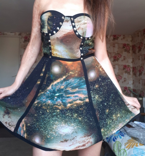 Nowa sukienka Galaxy zip 40 42