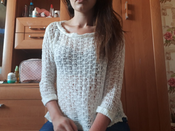 Sweterek biały Atmosphere M L
