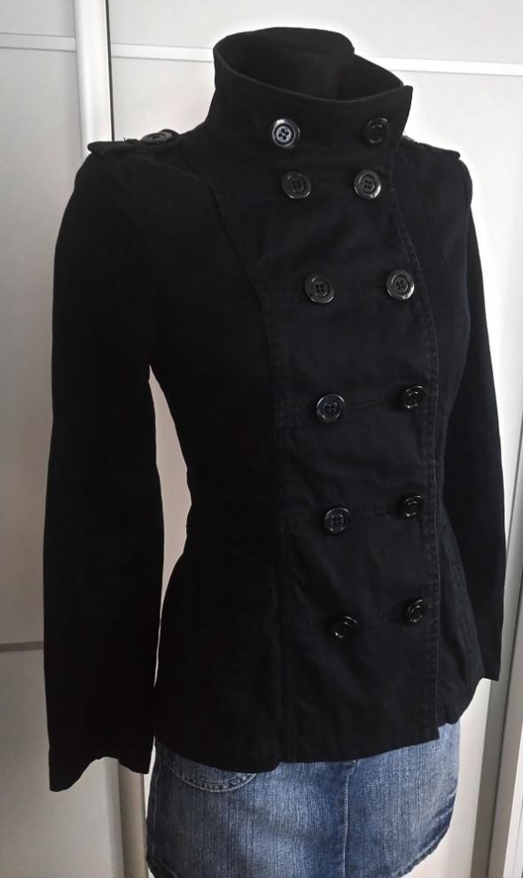 b1b2260c Krótki płaszczyk kurtka XS S w Odzież wierzchnia - Szafa.pl