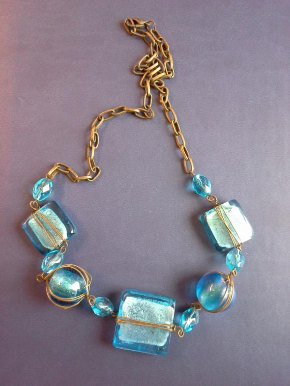 Biżuteria lustro weneckie
