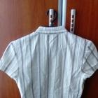 Elegancka jasna bluzka w paski