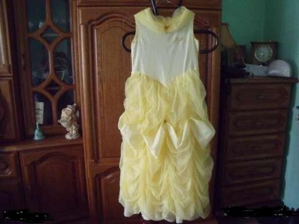 Żółta balowa suknia DISNEY...