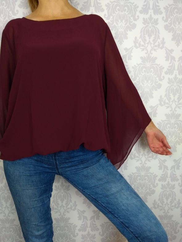 Delikatna elegancka zwiewna bluzka Alfani