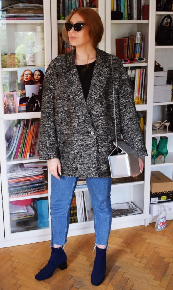 Płaszcz H&M Oversize Insta Tumblr