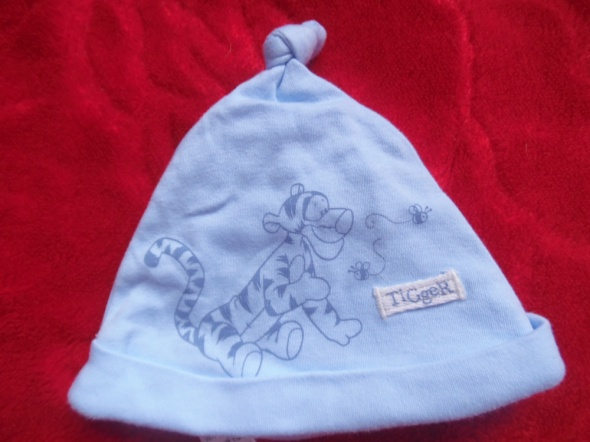 Wiosenna czapeczka dla chłopca 0 do 3 m...