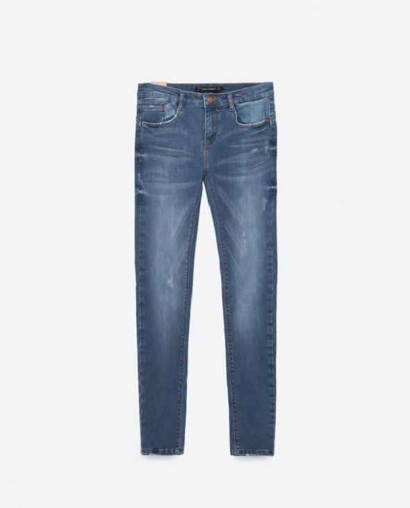 ZARA jeansy rurki 36