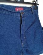 spodenki jeansowe vintage kieszenie po bokach