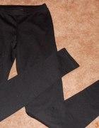 Czarne legginsy TROUVE rozmiar XS