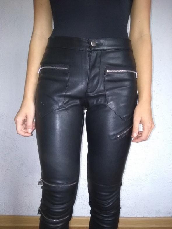 Spodnie Zara eko skóra...
