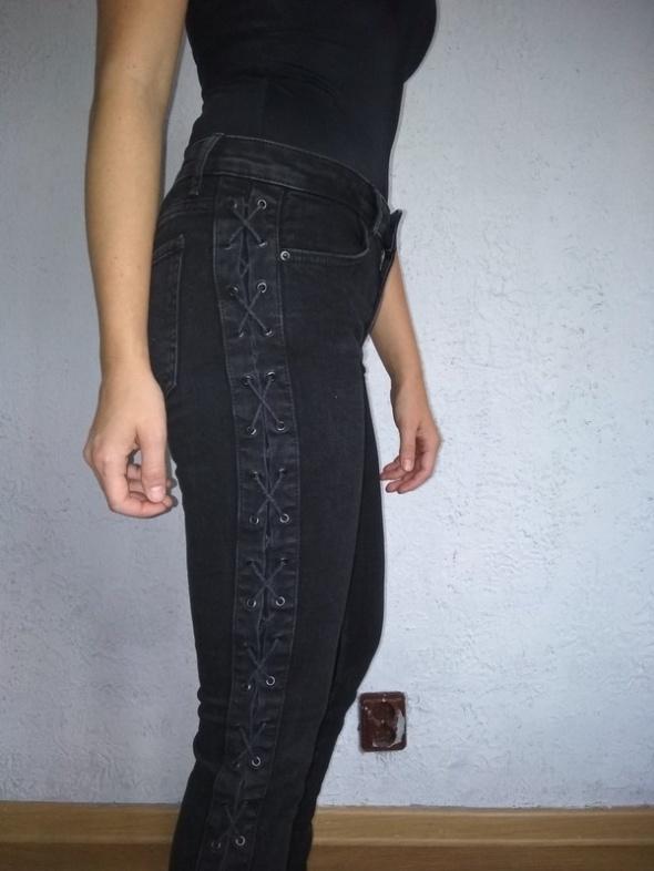 Spodnie Zara wiązania...