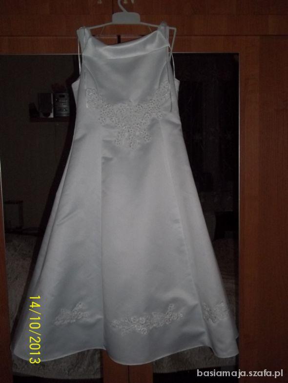 93036b3905 Sukienka na wesele komunie 134 w Sukienki i spódniczki - Szafa.pl