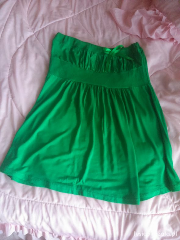 Bluzki Zielona z kokardką